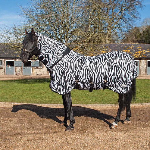 Rhinegold Zebra Print Full Neck