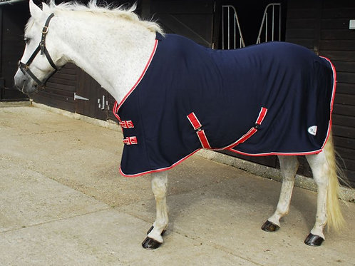 Rhinegold 'Smart-Tec' Jersey Fleece Backed Cooler Rug