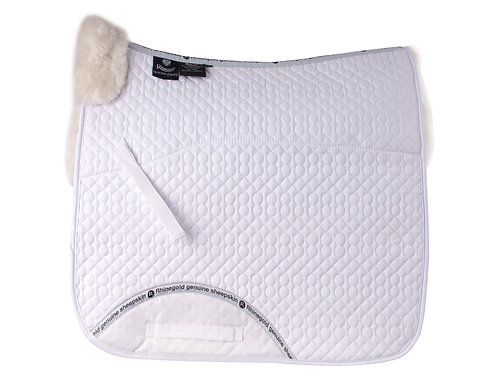 Rhinegold Real Sheepskin Lined Dressage Cloth