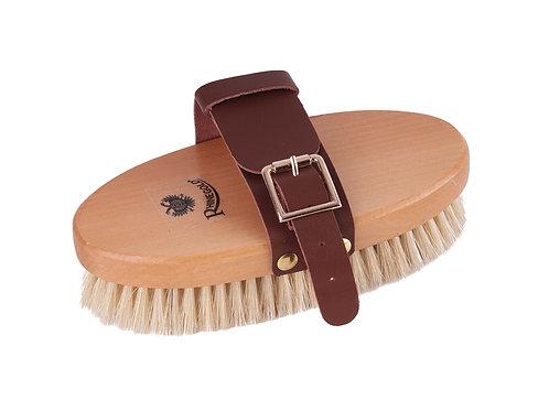Rhinegold Leather Strap Body Brush