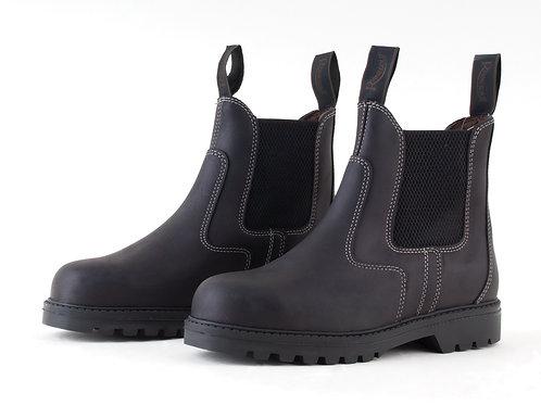 Rhinegold Tec Steel Toe Safety Boots Unisex