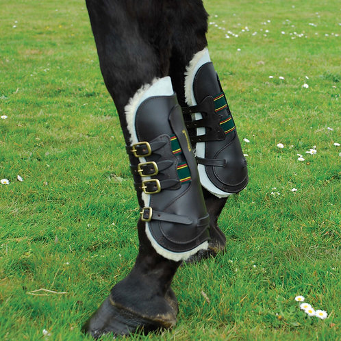 Rhinegold German Leather Tendon Boots