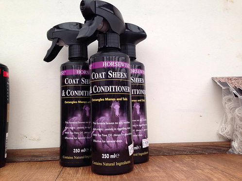 Horsewise Coat Sheen & Conditioning - 350ml