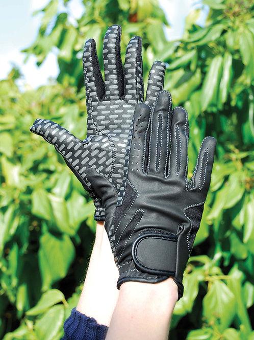 Rhinegold Silcone Grip Riding Gloves