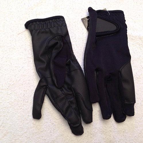 Rhinegold Super Stretch Mesh Back Riding Gloves