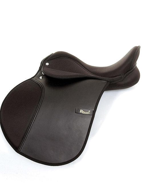 Rhinegold Sythetic GP Saddle - X-Wide