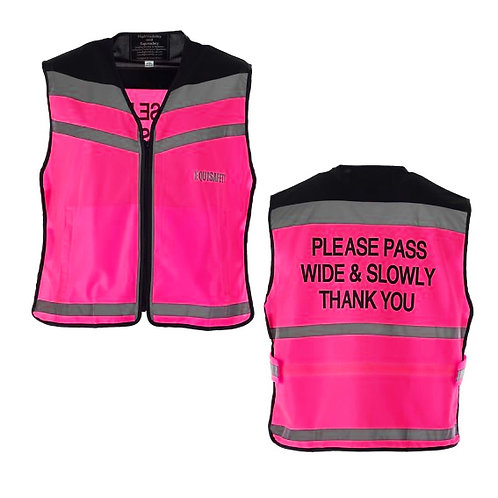 Equi Safety Pink Waistcoat