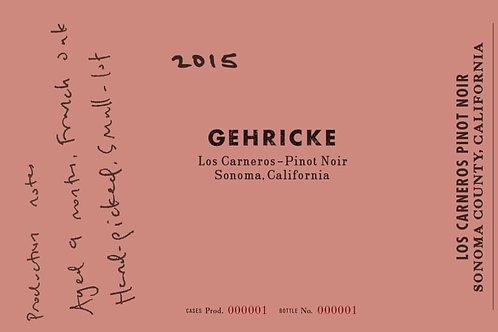 Gehricke - Pinot Noir