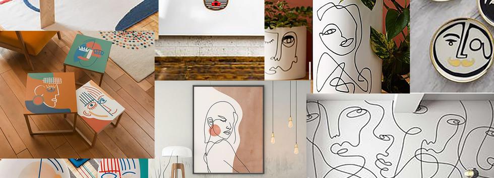 Comment adopter les visages dans votre décoration intérieure ?