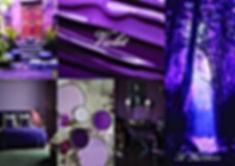 La planche décorative réalisée par So'Kré Déco décoratrice d'intériur sur la déco en violet suggère la sérénité et délicatesse. Une couleur ambigue appellant à la douceur et au rêve.