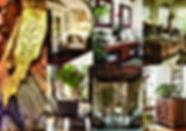 Planche d'inspiration coloniale par Sophie Suau de So'Kré Déco, décoratrice UFDI à Clermont, Issoire, et Riom : une ambiance ressourçante avec un vent d'élégance au charme unique des pays lointains caractérisent la décoration coloniale