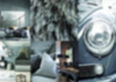 Planche d'inspiration déco Grise réalisée par So'Kré Déco décoratrice Clermont-Ferrand. Le gris en décoration intérieure peut être à la fois doux, apaisant et calme. Il apporte une touche d'élégance, avec modernité. On le retrouve dans les intérieurs design et contemporains.