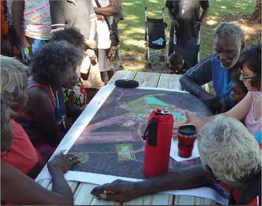 Cadastre Survey Plans defining NativeTitle land Australia - Geodata Australia Project