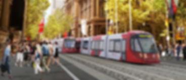 Sydney Light Rail Martin Place - Project Geodata Australia
