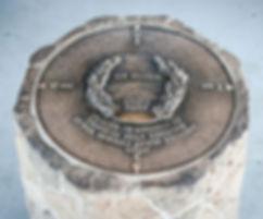 Mt. Diablo State Park survey monument on Mt. Diablo Summit