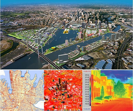 Infrastructure cadastre and GIS spatial data used by Local Government & Utilities in land administration