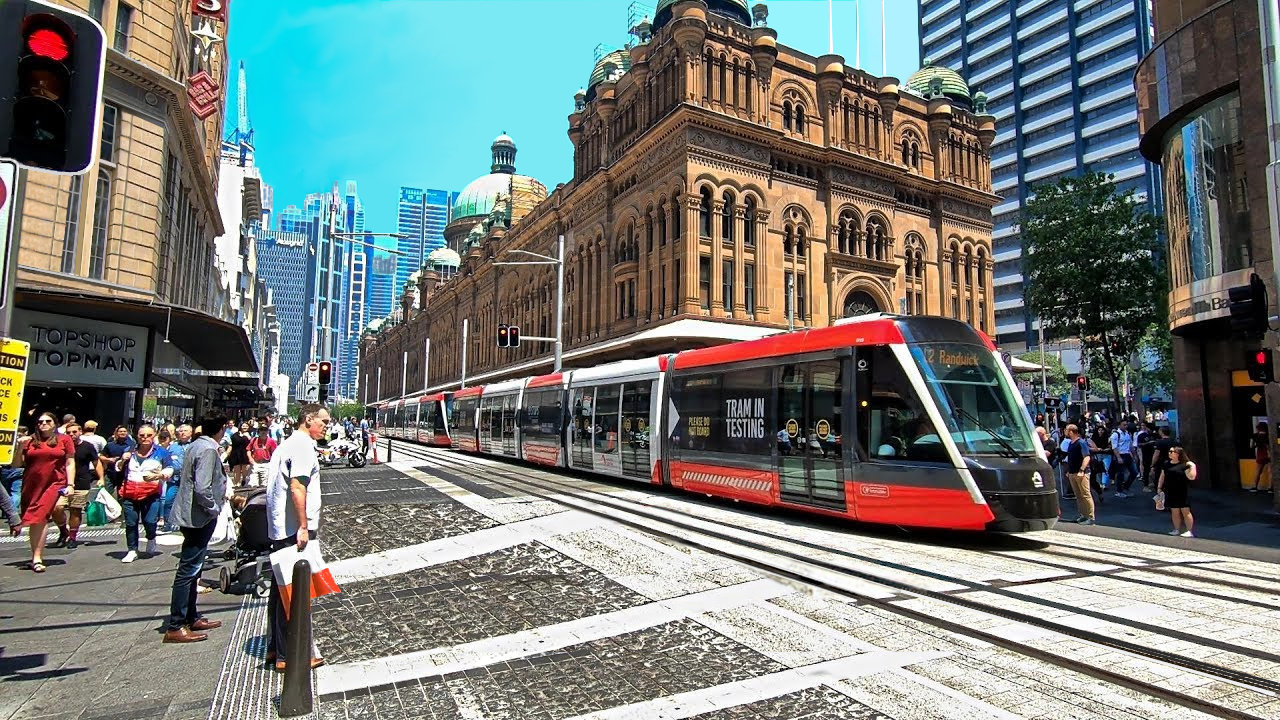 Sydney CBD Light Rail Land Survey Project