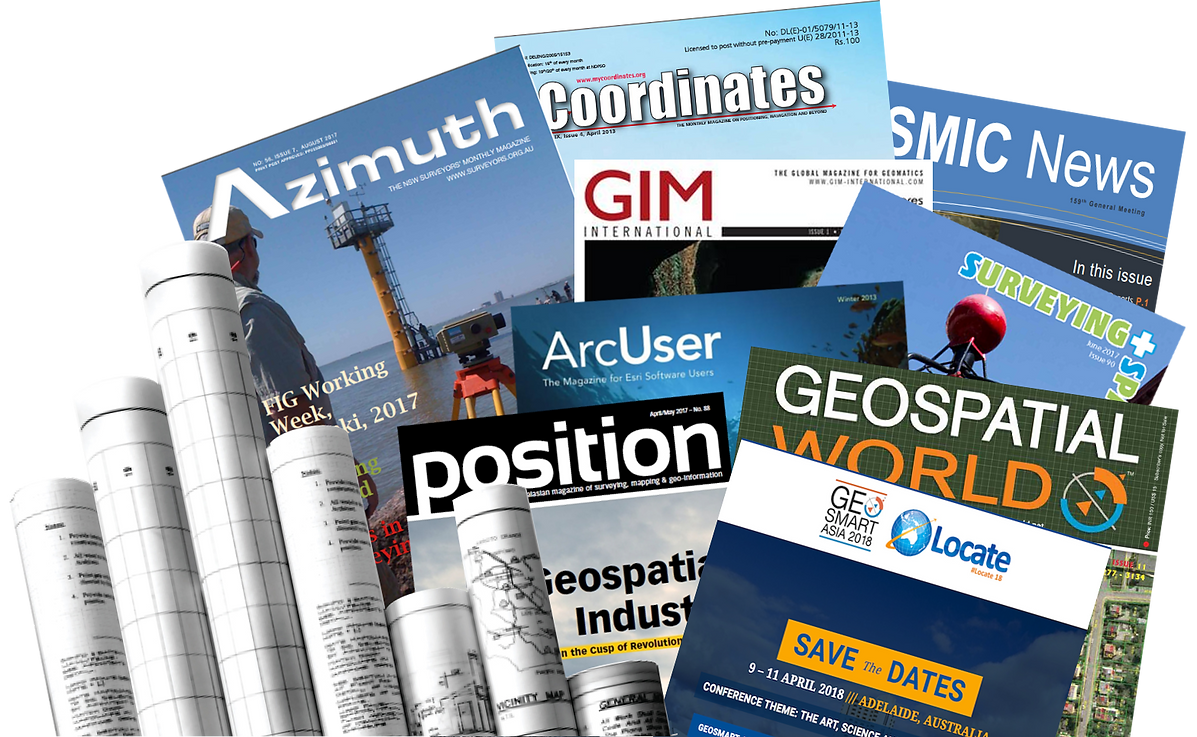 Cadastral and geospatial technical publications, papers & reference documents on land surveying and cadastral administration systems - Geodata Australia