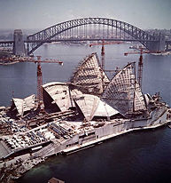 Land Survey Sydney Opera House Project