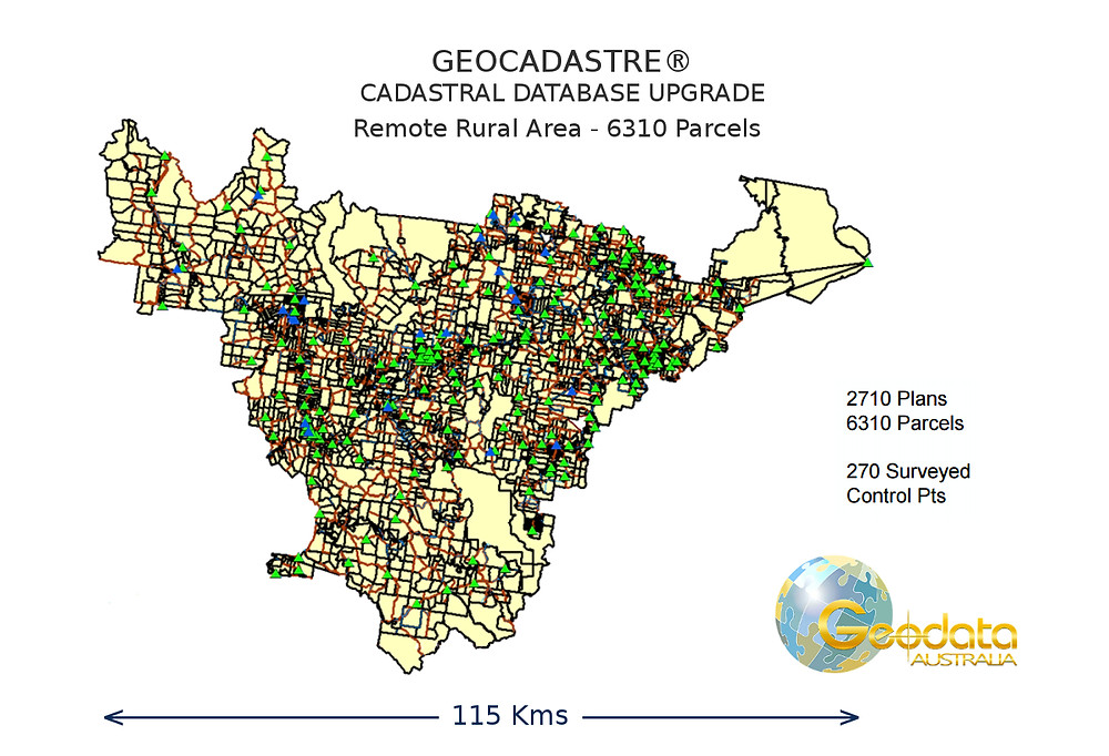Gympie Council Upgrade of Cadastral Database