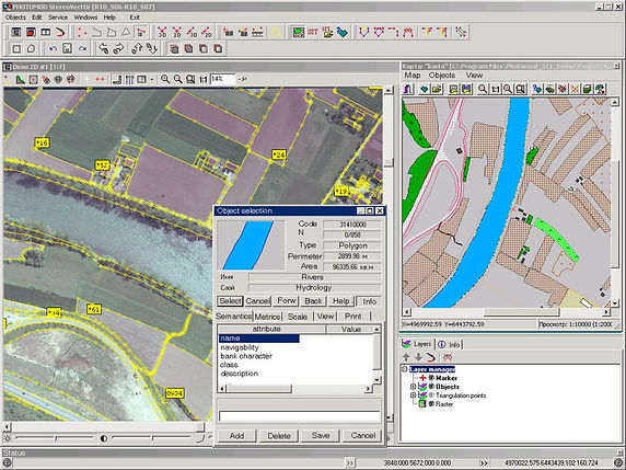 GeoSurvey software uploads and translates electronic field data to prepare final survey plan for land survey certification and use by Land Title administration systems