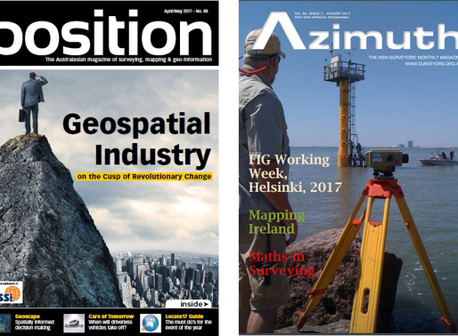 Our Sources for the Latest in Survey & Spatial News.