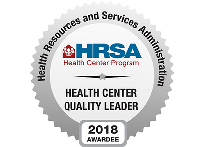 CHS Recognized by Health Resources & Services Administration (HRSA) as a Health Center Quality L