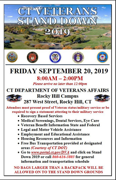Community Health Services is honored to join the CT Department of Veterans Affairs on Friday, Septem
