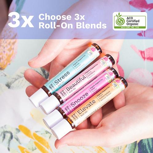 Choose 3 x Roll-Ons