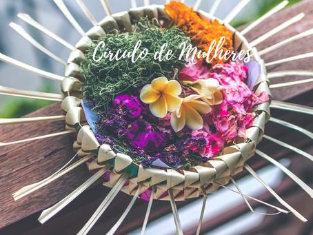 Sagrado feminino - Celebração em círculo