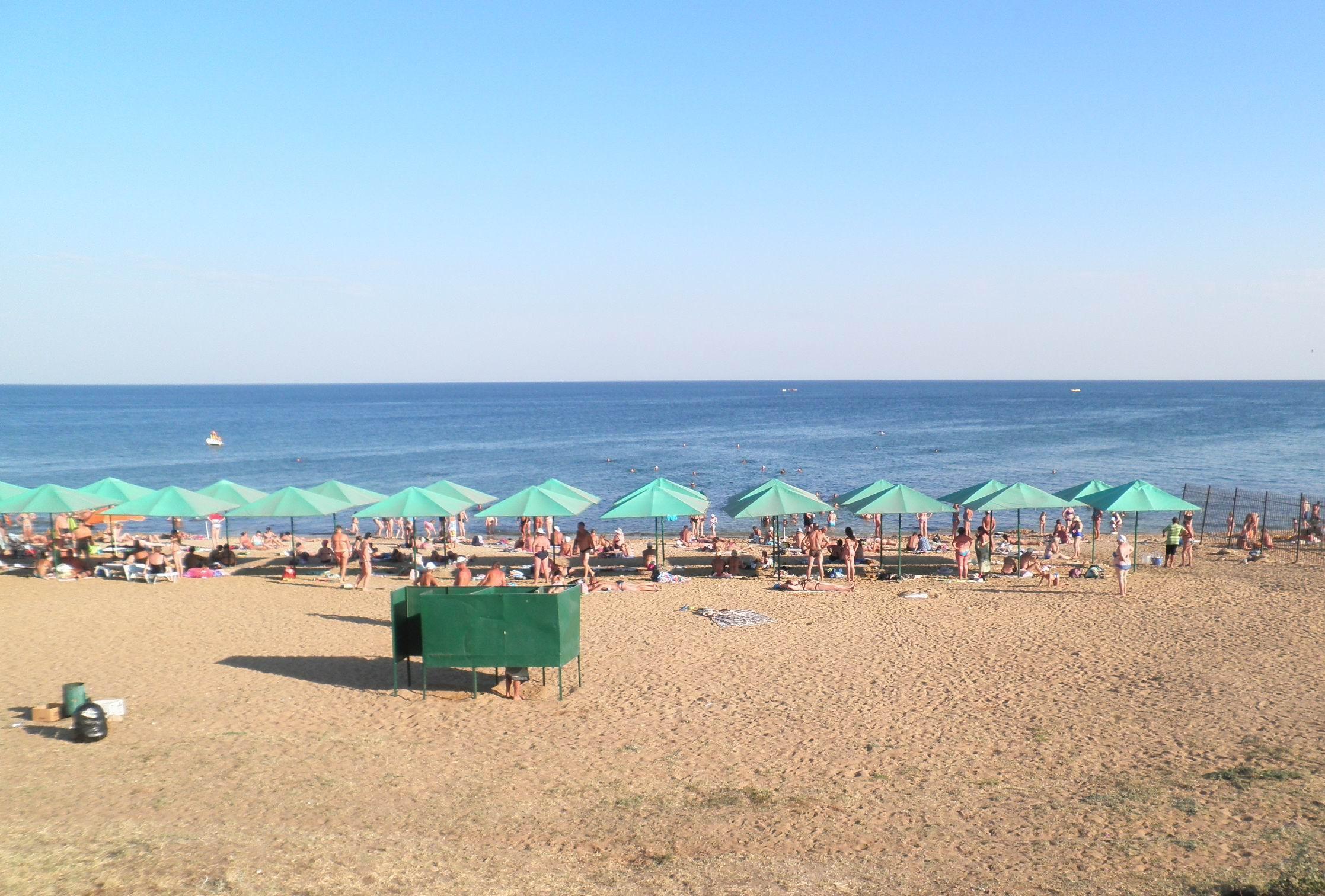 Мини отель Магнолия, пляжи Береговое