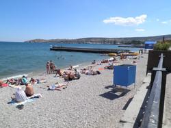 городской пляж Феодосии