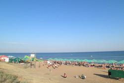 Пляж Береговое Феодосия