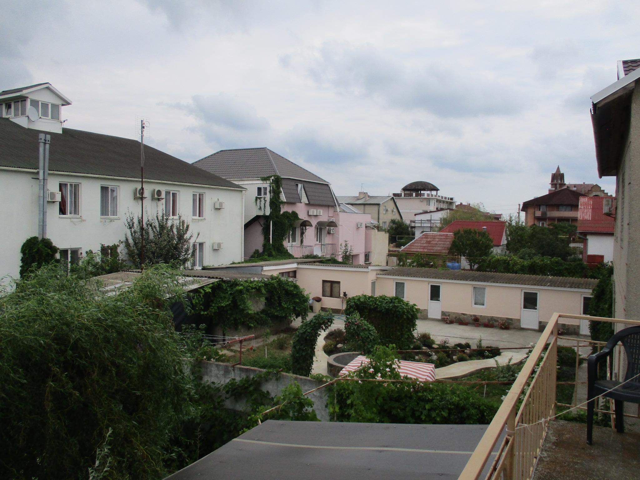 Вид с балкона. Береговое