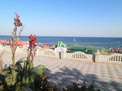 Пляж Береговое. Мини отель Магнолия