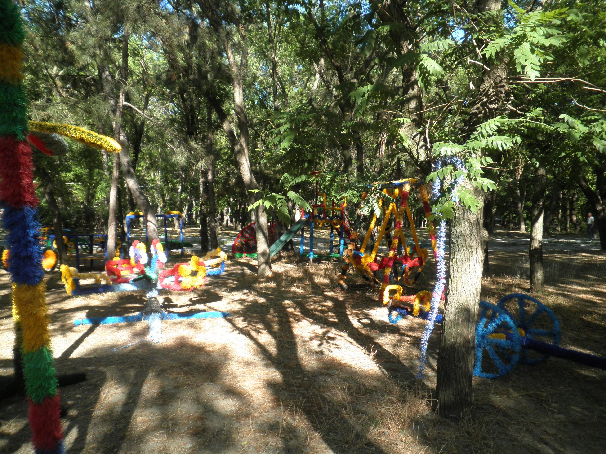 детские площадки Феодосии
