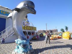 Дельфинарий, Береговое, Феодосия
