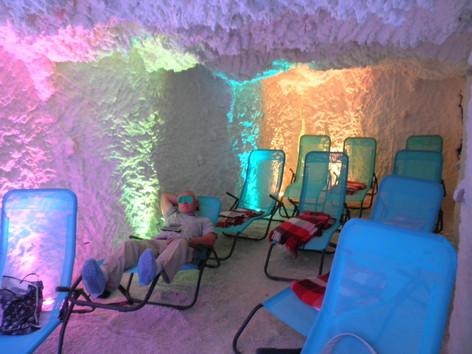 Соляная пещера. Феодосия