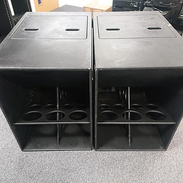 (Used) Pair Funktion One F124 Bass Enclosures
