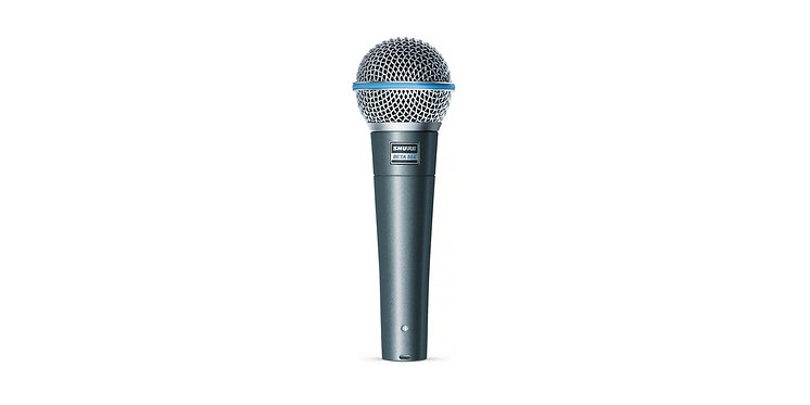 Shure BETA 58A Dynamic Vocal Microphone