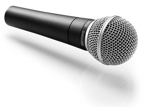 Shure SM58 Dynamic Mic   The Only Choice
