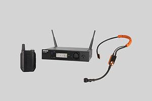 Shure SM31/GLXD4 Wireless Headband Microphone