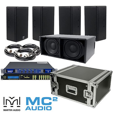 Martin Audio X8, X210 & Mc2 PA System Bundle