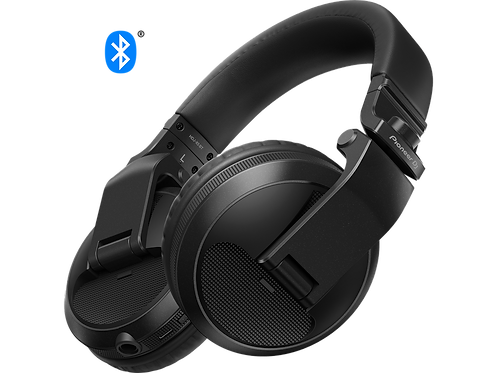 Pioneer DJ - HDJ-X5BT Pro DJ Bluetooth Headphones with Swivel Ear black