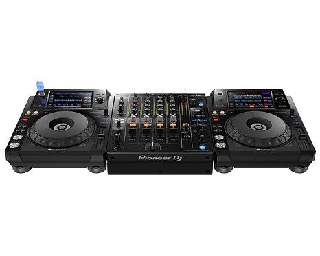Pioneer DJ Bundle - DJM-750 MK2, 2 x XDJ-1000 & HDJ-X7 Rekordbox Package