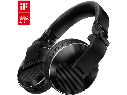 Pioneer DJ - HDJ-X10 Pro DJ 50mm Headphones with Swivel Ear black