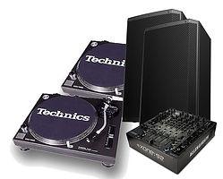 OldSkool DJ Equipment Package