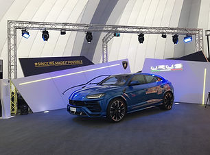 GDS at Lamborghini URUS Launch