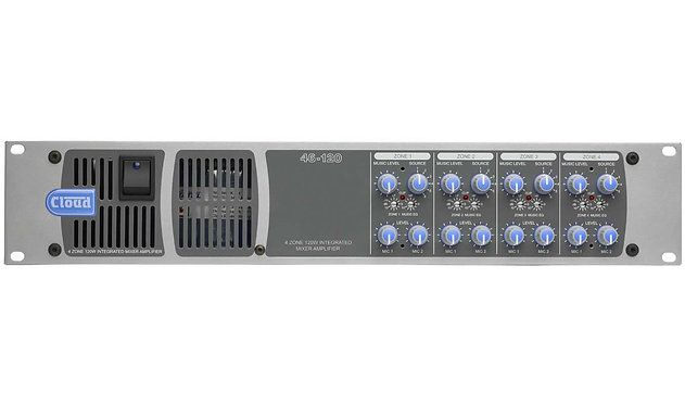 Cloud - 46-120 - 4 Zone Integrated Mixer Amplifier