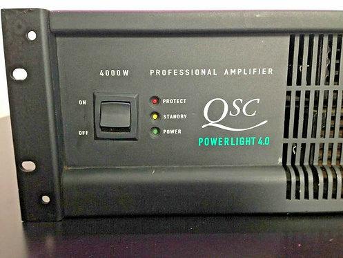 (Ex-Demo) QSC Powerlight 4.0 4000 Watt Professional Amplifier